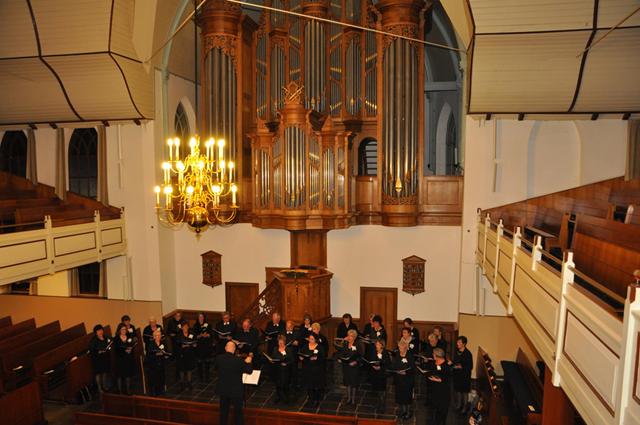 Jan van Seters dirigent van Laudate Dominum
